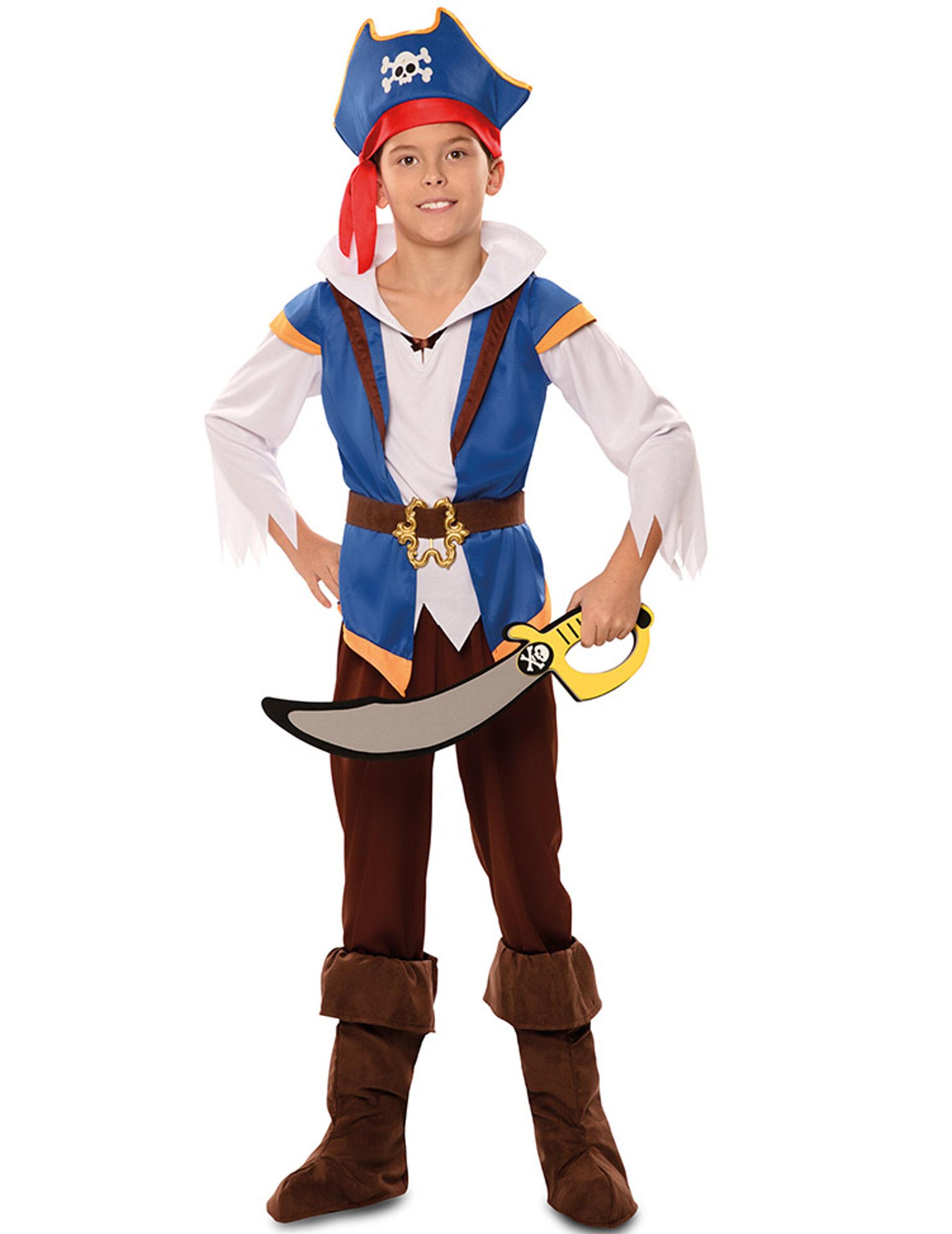 Vegaoo.es Disfraz pirata aventura azul niño - 3 à 4 ans (92-104 cm)
