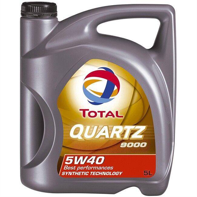 Total Aceite Motor Quartz 9000 5w40 Gasolina Y Diesel 5l