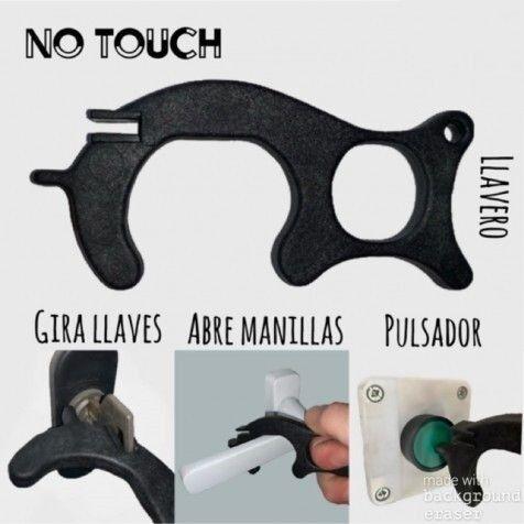 """COMPLEMENTOS Abridor De Puertas Y Pulsador """"no Touch"""" 4 Unidades"""