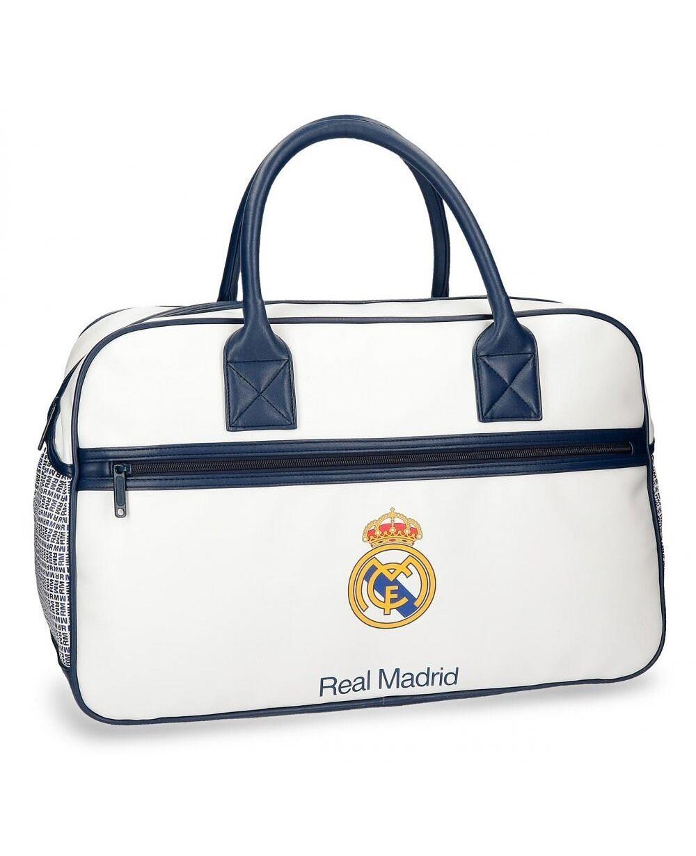 Real Madrid Leyenda Bolsa de Viaje Blanca