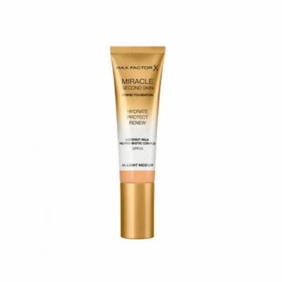 Max Factor Miracle Touch Second Skin 04, Light Medium, 30 ml