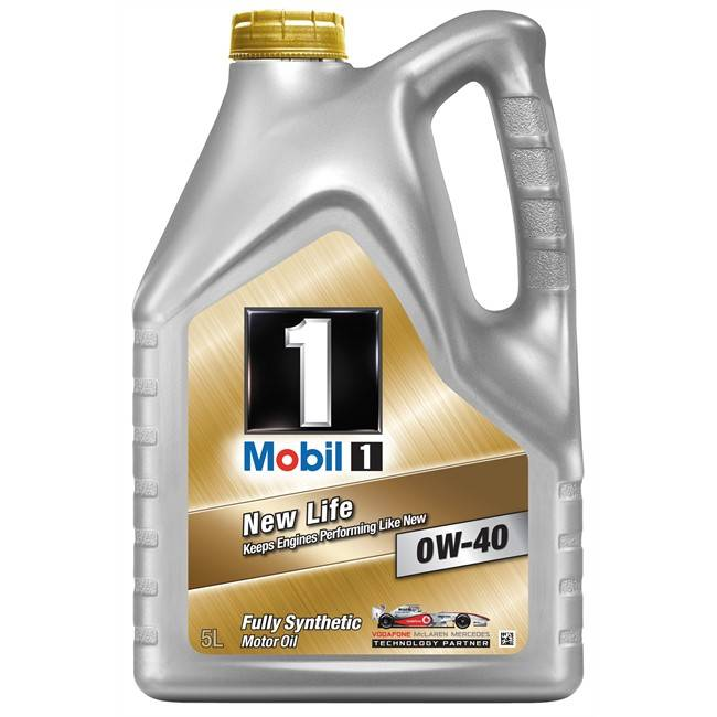 Mobil Aceite Motor 1 New Life 0w40 Gasolina 5l
