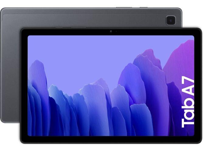 Samsung Tablet SAMSUNG Galaxy Tab A7 (10.4   - 64 GB - 3 GB RAM - Wi-Fi - Gris)