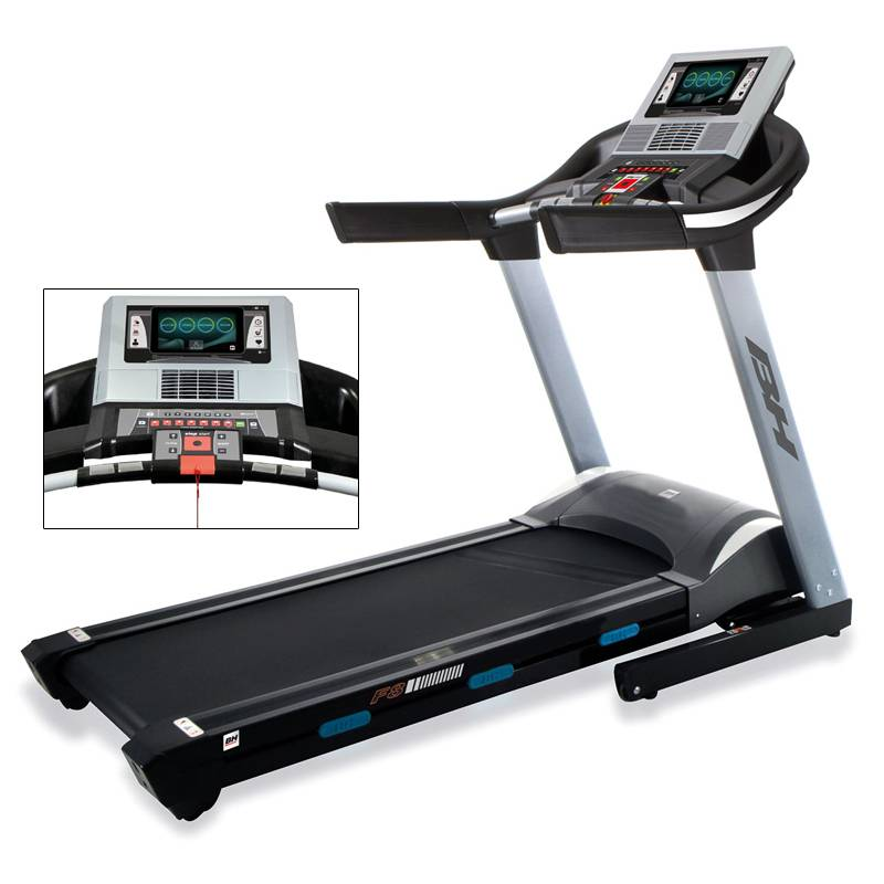 Cinta de correr F8 TFT BH Fitness: Equipada con la tecnología Touch - Fun