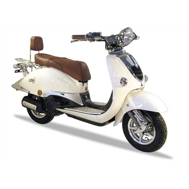 Scooter Sumco Luna 125 Cc Blanco