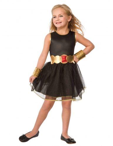 Disfraz Viuda negra Avengers con tutú niña 5 a 6 años
