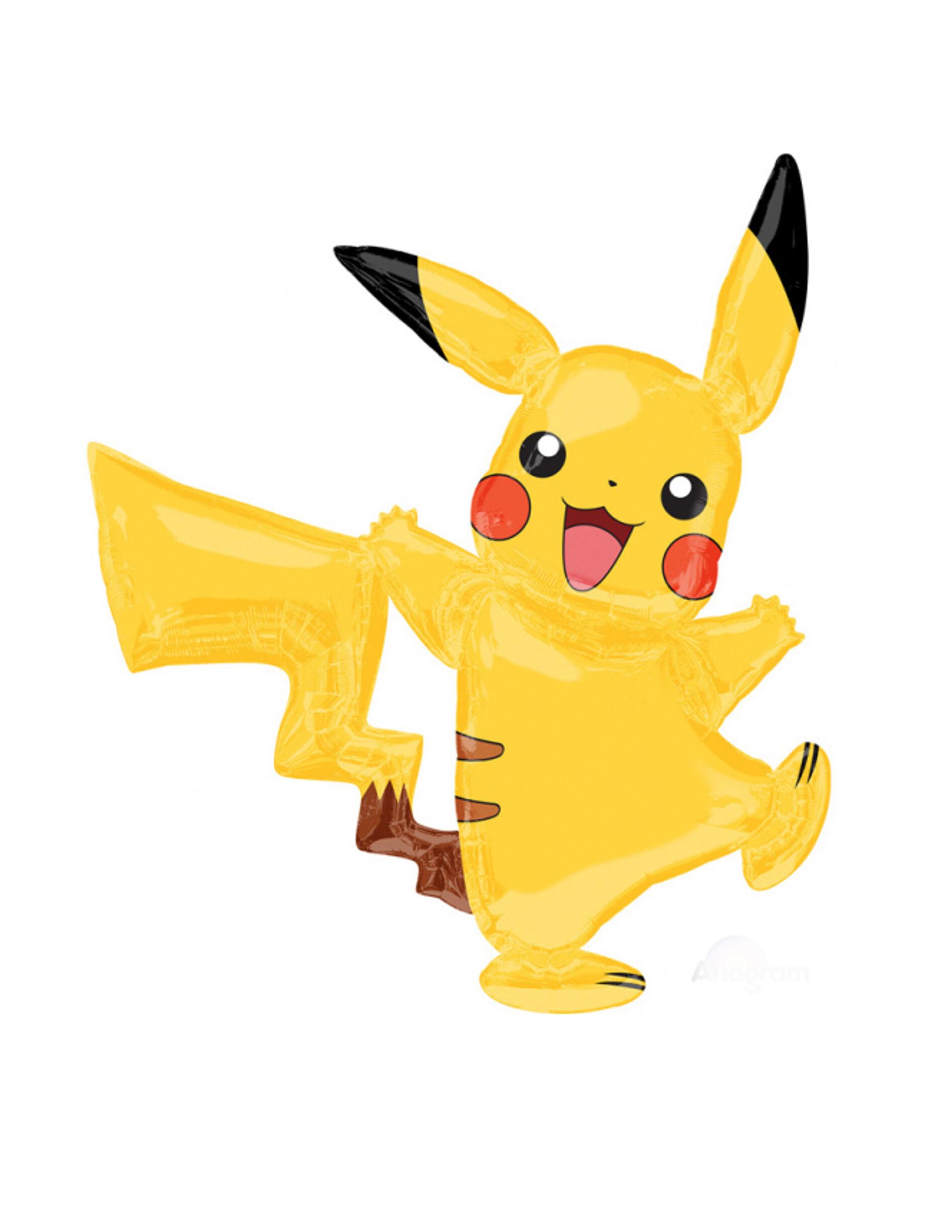 Vegaoo.es Globo aluminio Pikachu Pokemon 132 x 144 cm