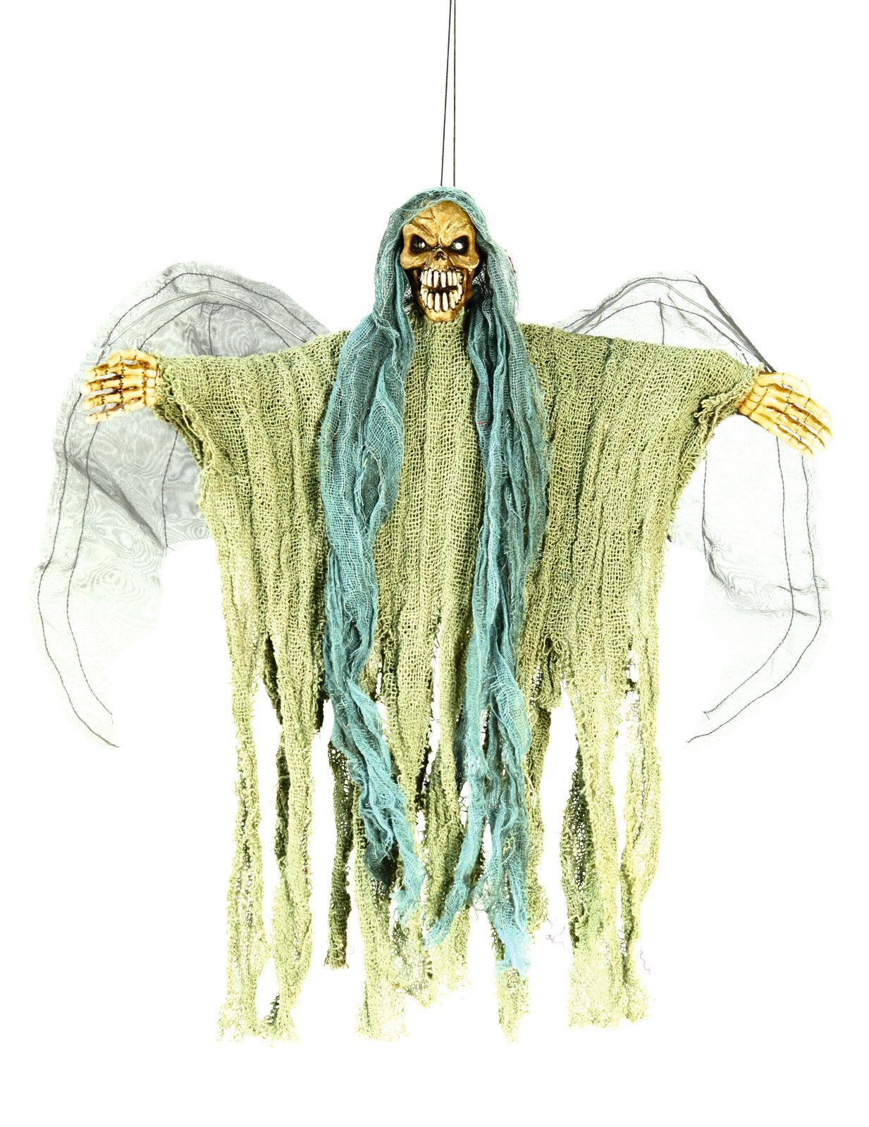 Vegaoo.es Decoración para colgar esqueleto de ángel de la muerte