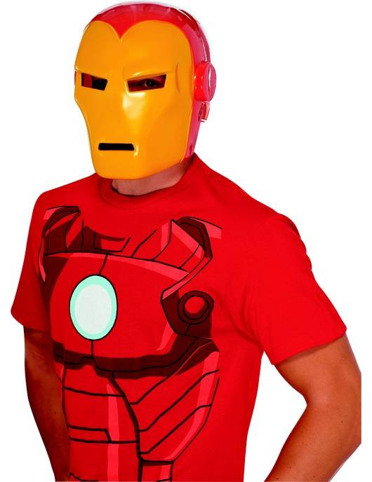Vegaoo.es Máscara adulto Iron Man