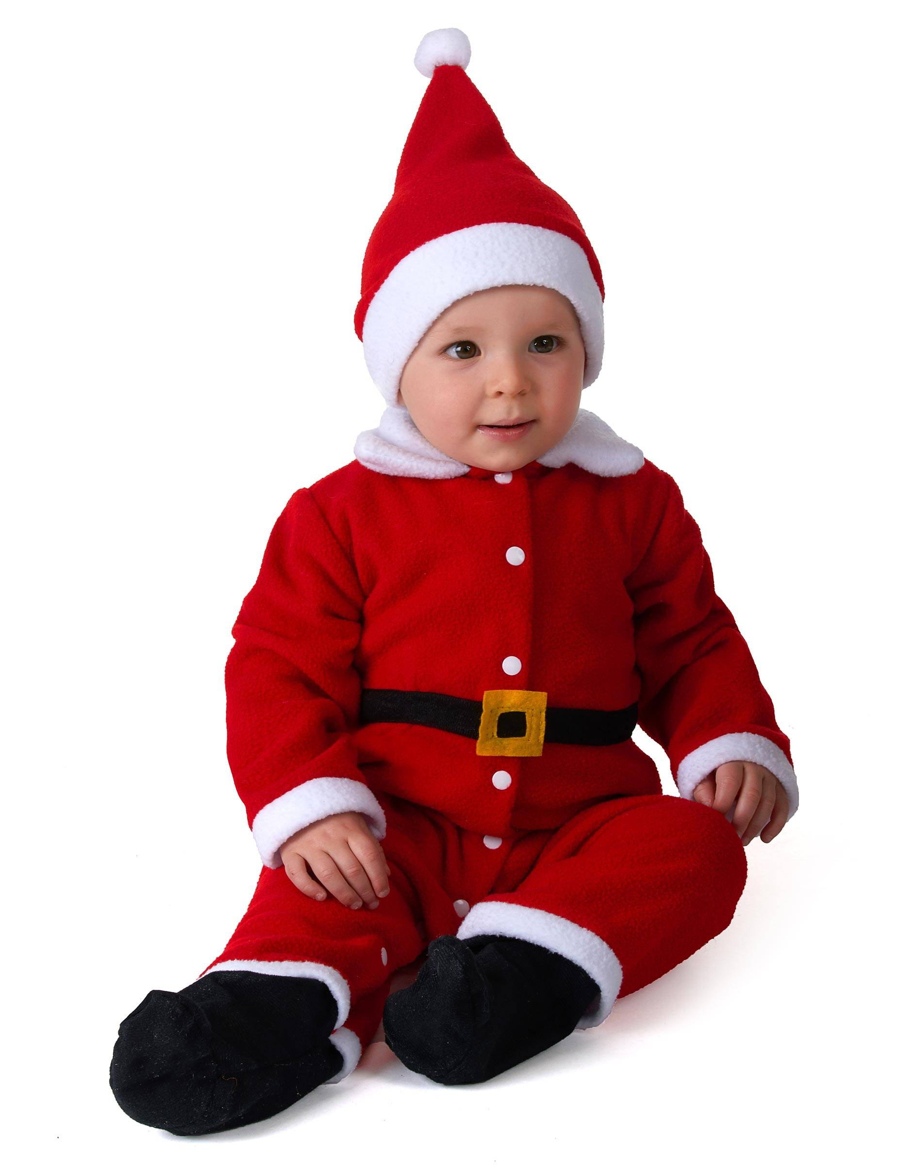 Vegaoo.es Disfraz de Papá Noel bebé - 6-12 meses