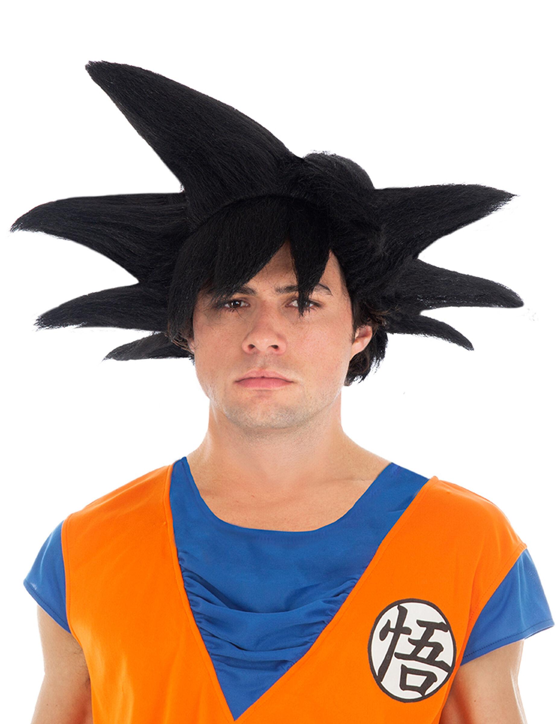 Vegaoo.es Peluca negra Goku Dragon Ball Z adulto