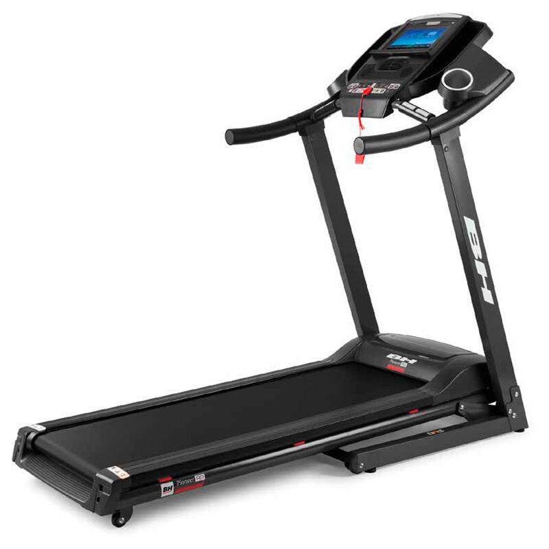 Cinta de correr Pionner R2 con pantalla TFT BH Fitness: Equipada con la tecnología touch-fun