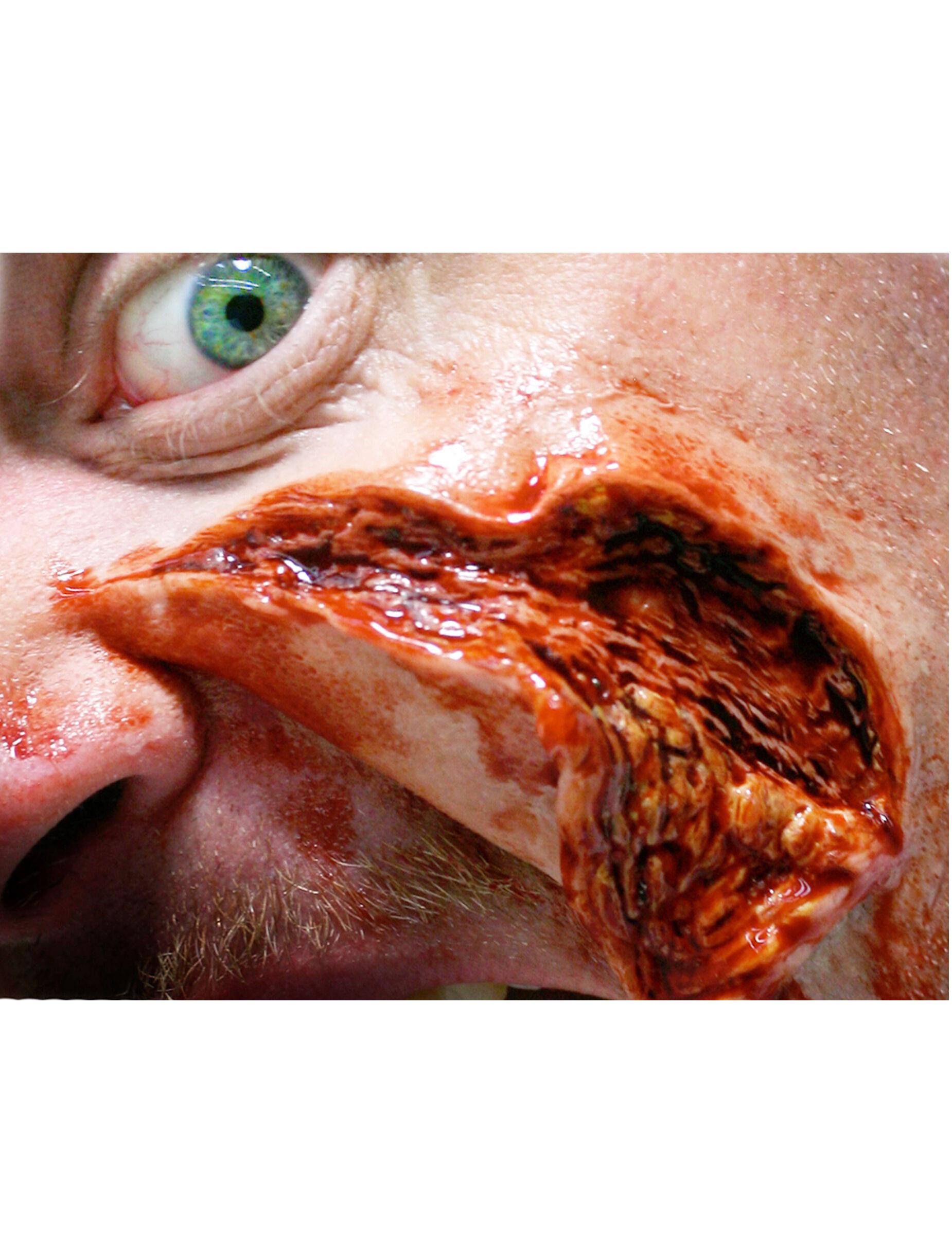 Vegaoo.es Heridas piel abierta y rasgada aplicación con agua