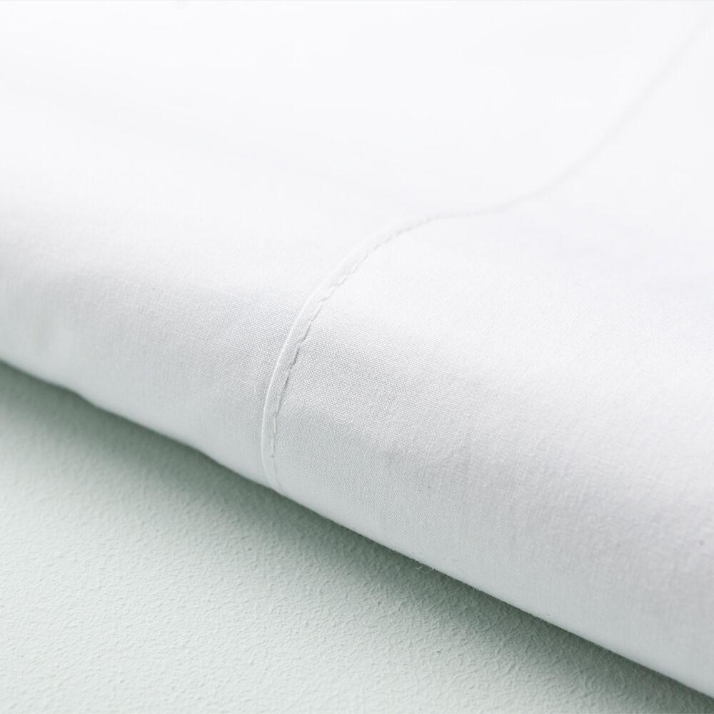 Basics Juego de sábanas percal algodón 250 hilos para cama de 90 Niza