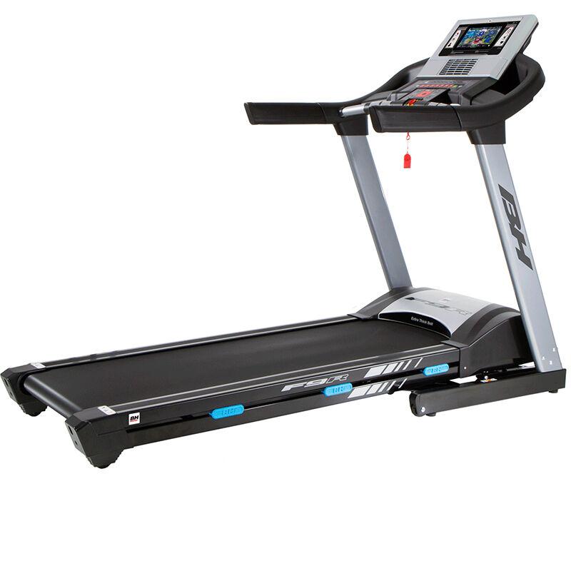 Cinta de correr BH Fitness F9R con pantalla TFT: Equipada con la tecnología touch-fun