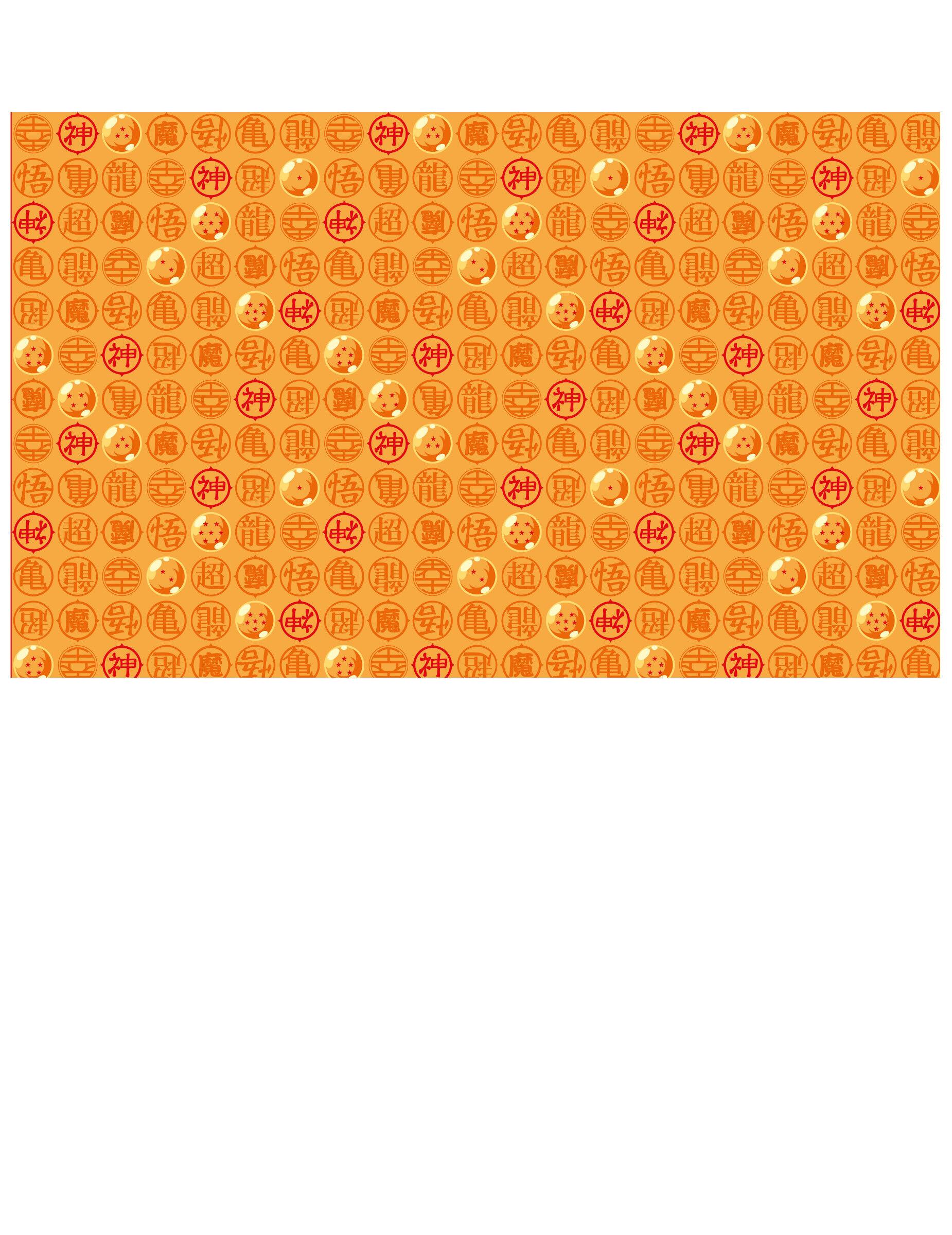 Vegaoo.es Mantel de papel Dragon Ball Z 120 x 180 cm