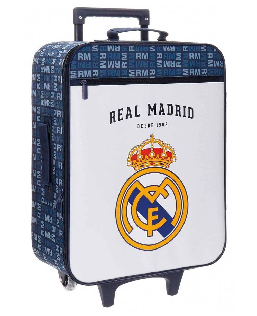 Real Madrid Basic Maleta de mano Blanca