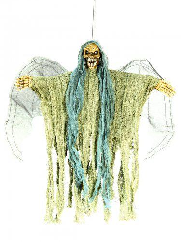 Decoración para colgar esqueleto de ángel de la muerte Única