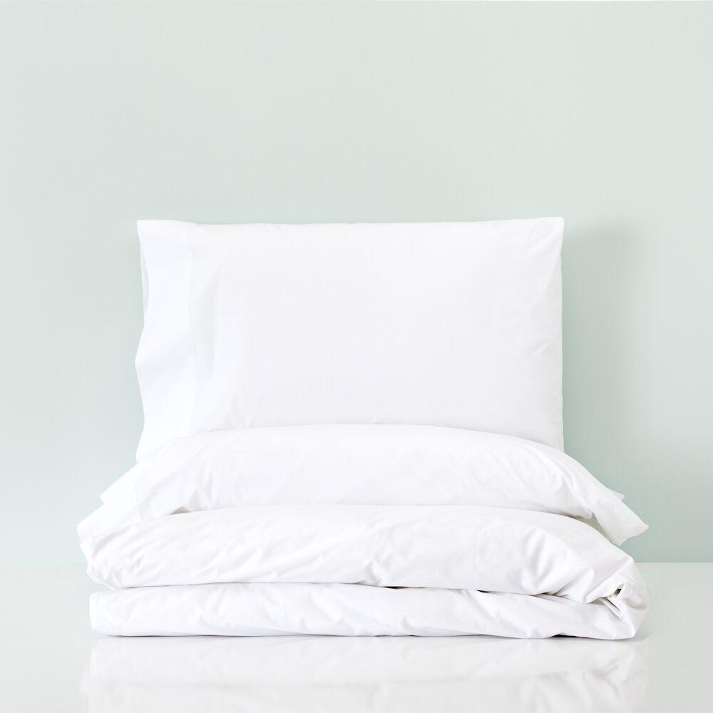 Basics Set de funda nórdica percal algodón para cama de 150 y 160 Niza