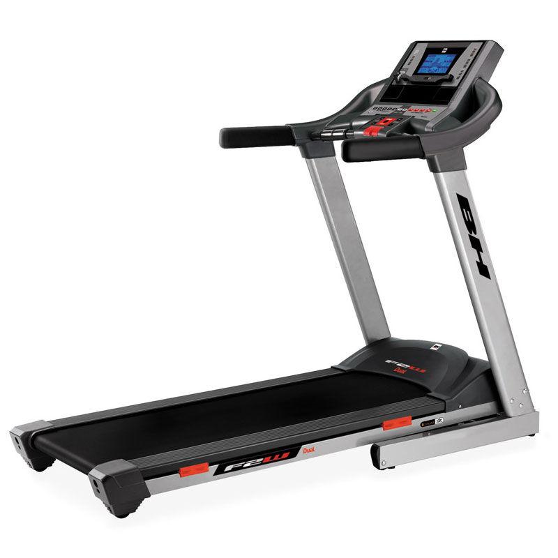 Cinta de correr i.F2W Dual con pantalla TFT Bh Fitness: Equipada con tecnología i.Concept y Dual Kit