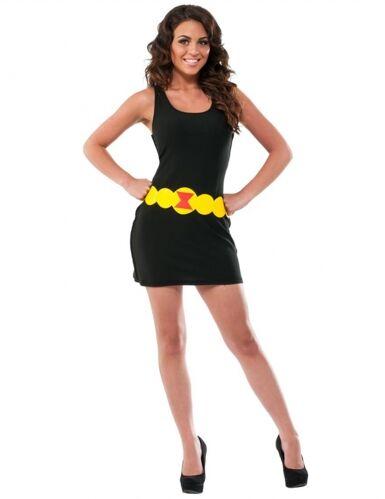 Vestido negro Viuda Negra mujer S