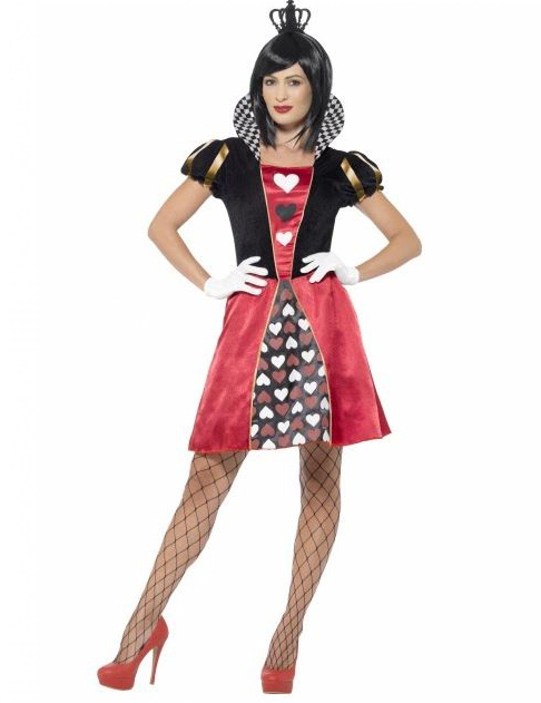 Vegaoo.es Disfraz de Miss reina de cartas - XS