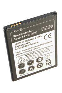 Samsung Galaxy S4 Mini batería (2300 mAh, Negro)