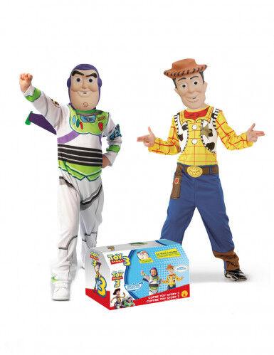 Pack 2 disfraces Buzz y Woody Toy Story niño 5 a 6 años (105 a 116 cm)