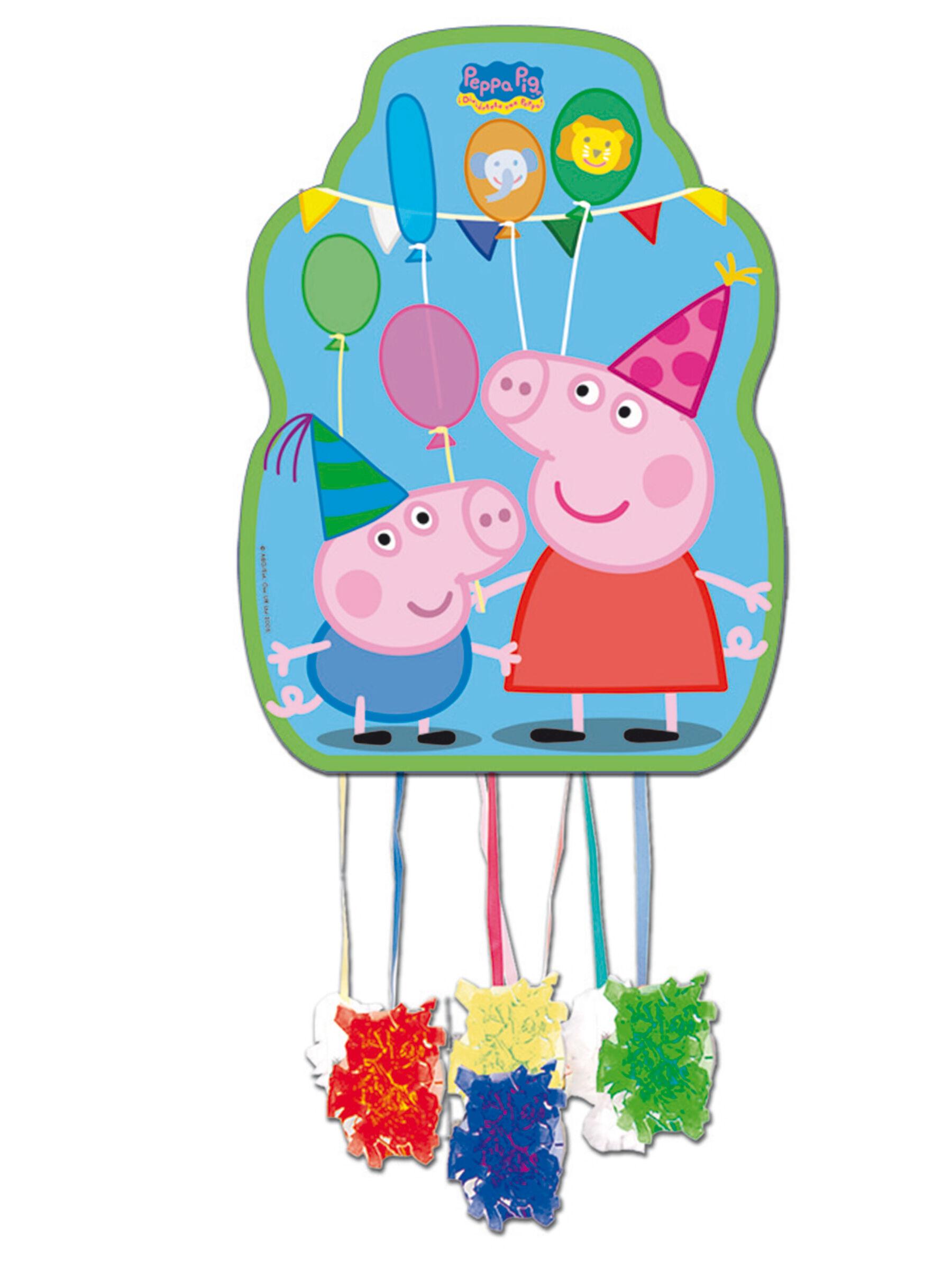 Vegaoo.es Piñata Peppa Pig 36 x 46 cm