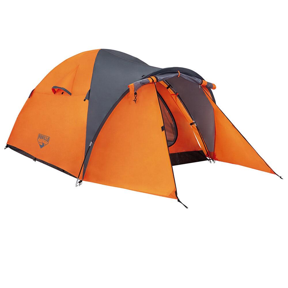 LOLA home Tienda de campaña para 2 personas de poliéster naranja de 115x200x165 cm