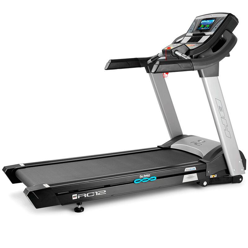 Cinta de correr BH Fitness RC12 con pantalla TFT: equipo semi-profesional