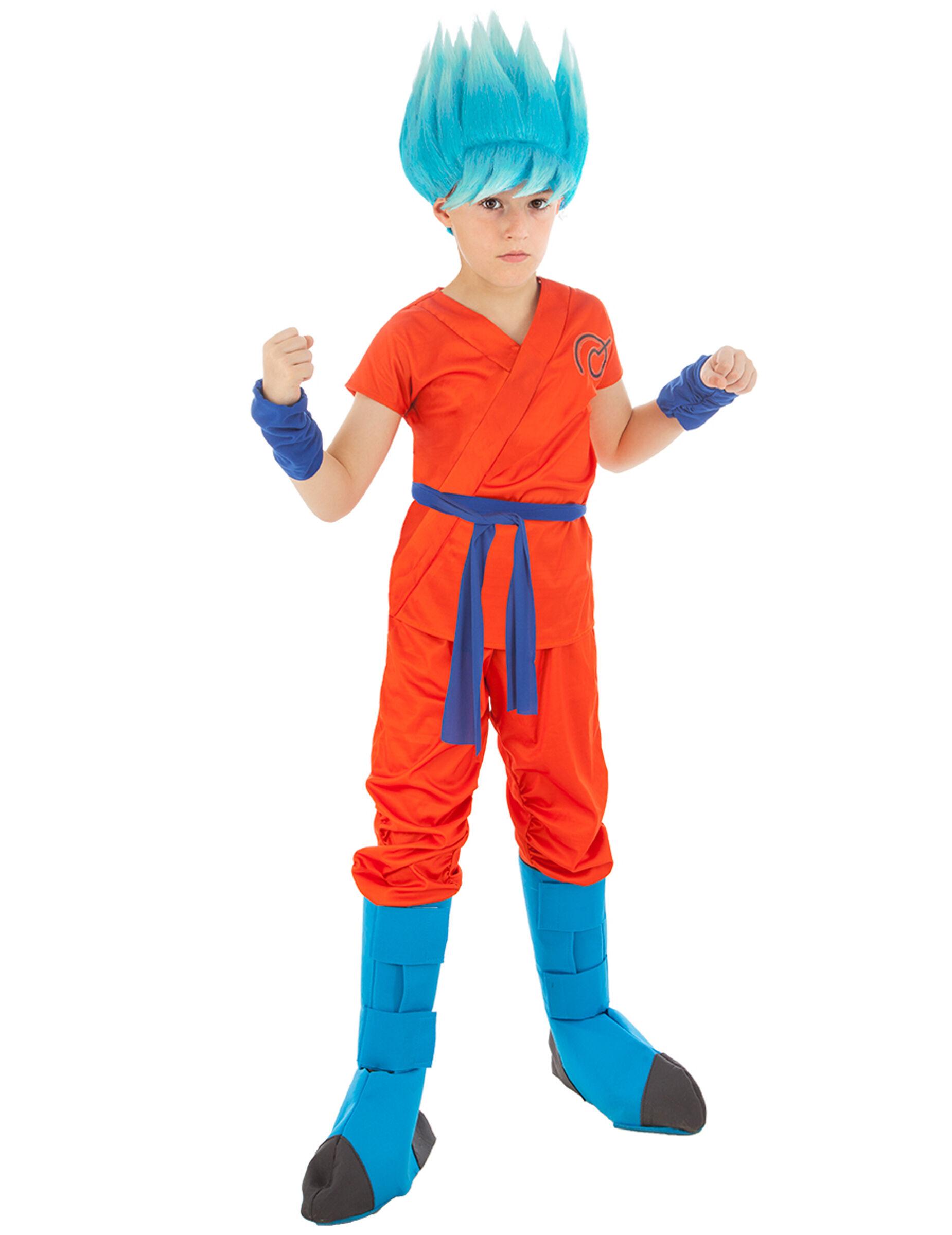 Vegaoo.es Disfraz Goku Dragón ball Z niño - 7 a 8 años (128 cm)
