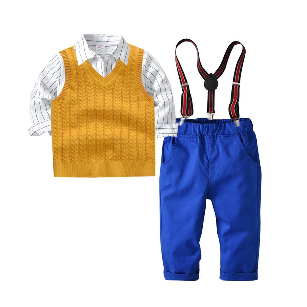 Los bebés conjunto completo ropa 3 piezas