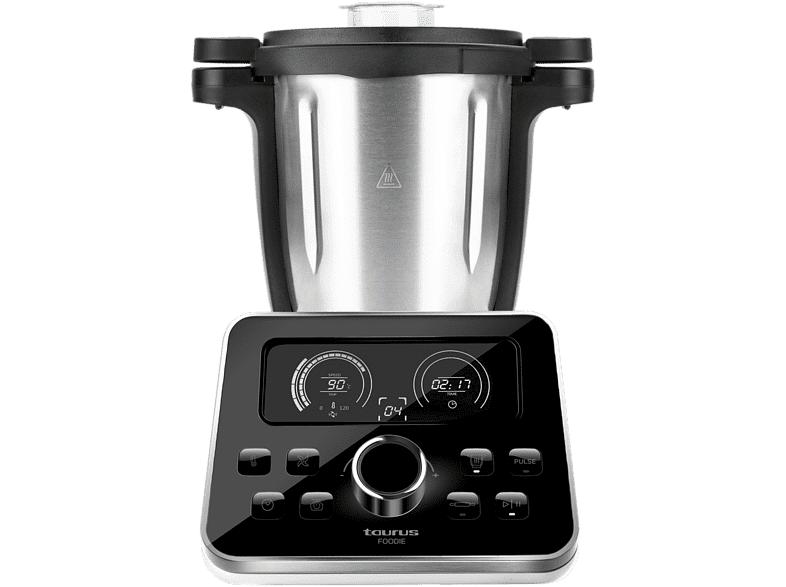 Taurus Robot de Cocina - Taurus Foodie, 1500 W, Multifuncional, 31 funciones, 12 velocidades, 3.5 L, Blanco