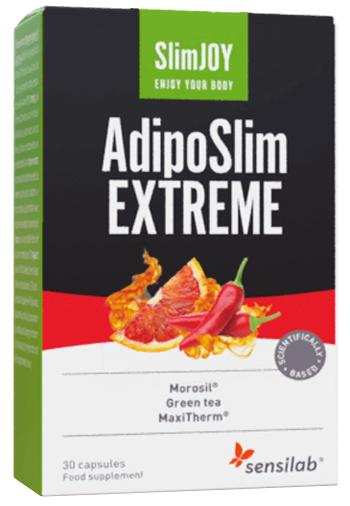 Sensilab AdipoSlim Extreme   Bajar la barriga   Fórmula 30% más fuerte   Programa de 1 mes   30 cápsulas   SlimJOY
