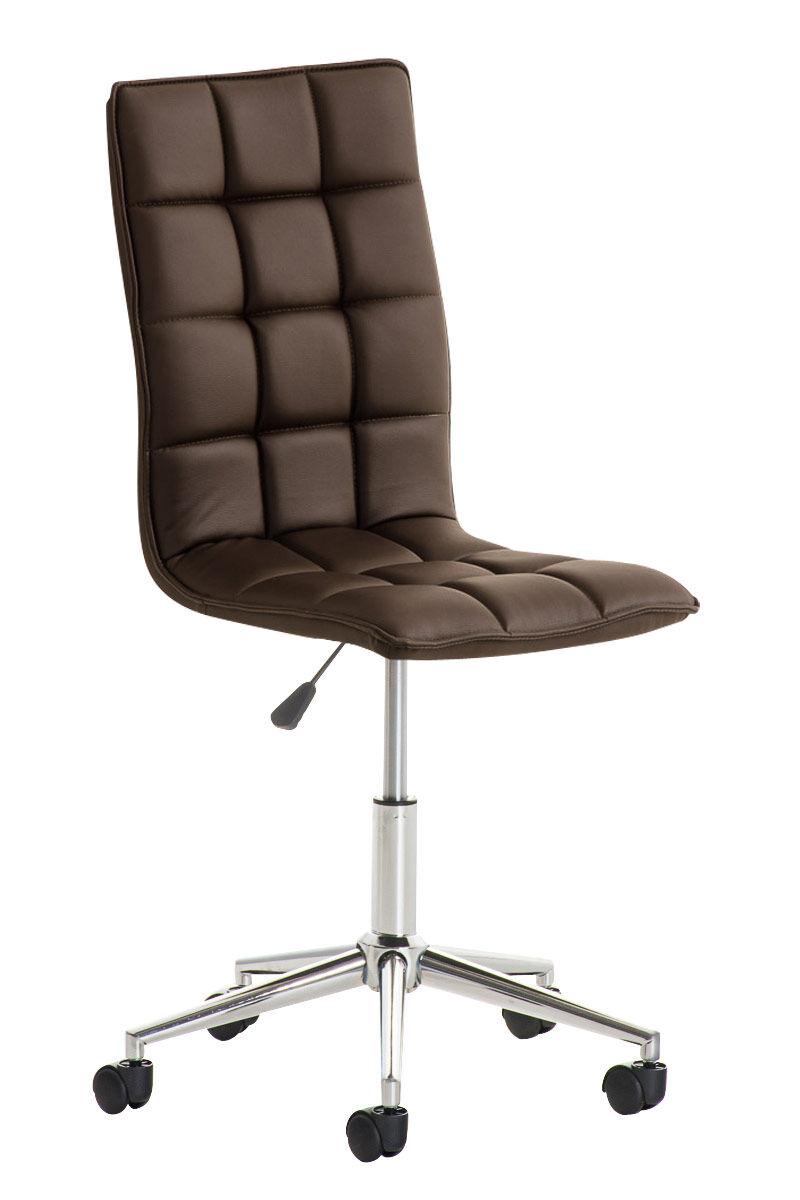 CLP Taburete de Trabajo Peking , marrón  marrón, altura del asiento