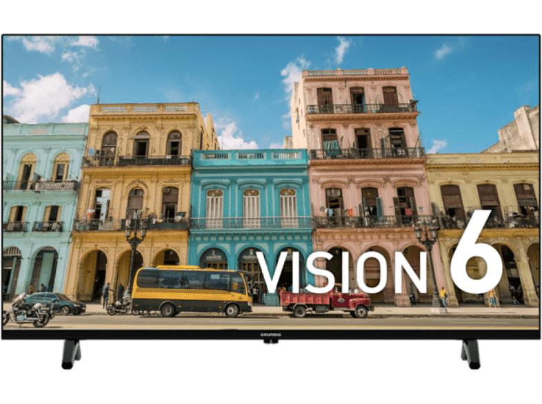 "Grundig TV LED 32"" - Grundig 32 GEH 6600B, HD, Quad Core, DVB-T2, Negro"