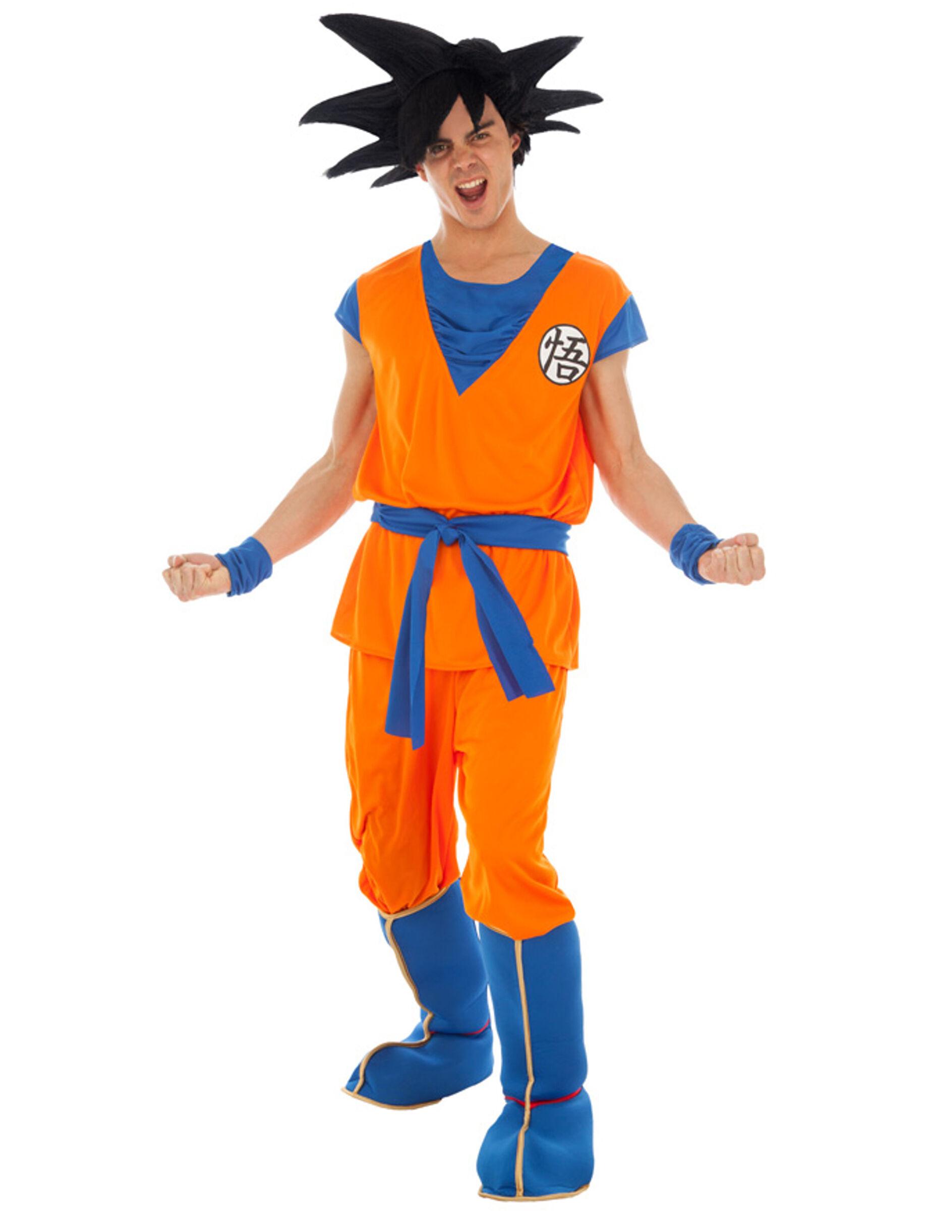 Vegaoo.es Disfraz Goku Saiyan Dragon Ball Z adulto - L