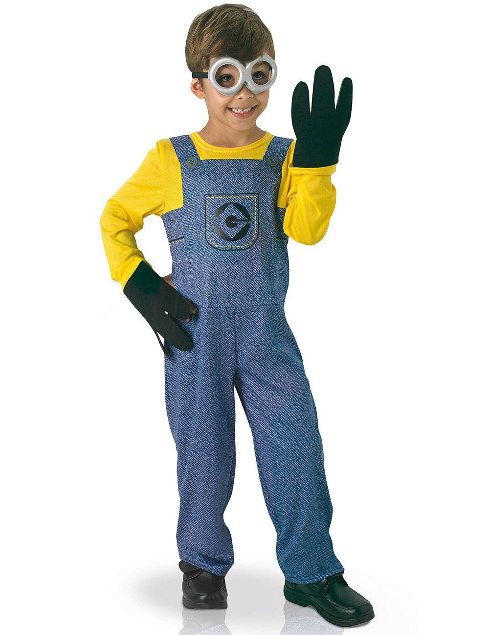 Vegaoo.es Disfraz clásico Minions - 7 a 8 años (117 a 128 cm)