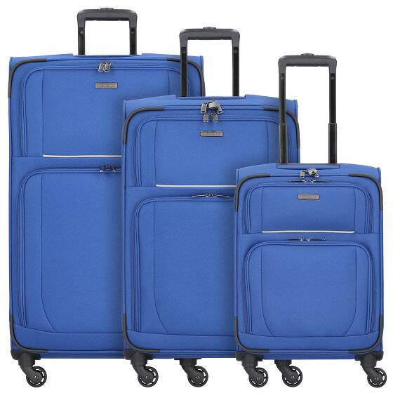 Travelite Garda 2.0 Maleta 4 ruedas set 3pz. royal blau grau