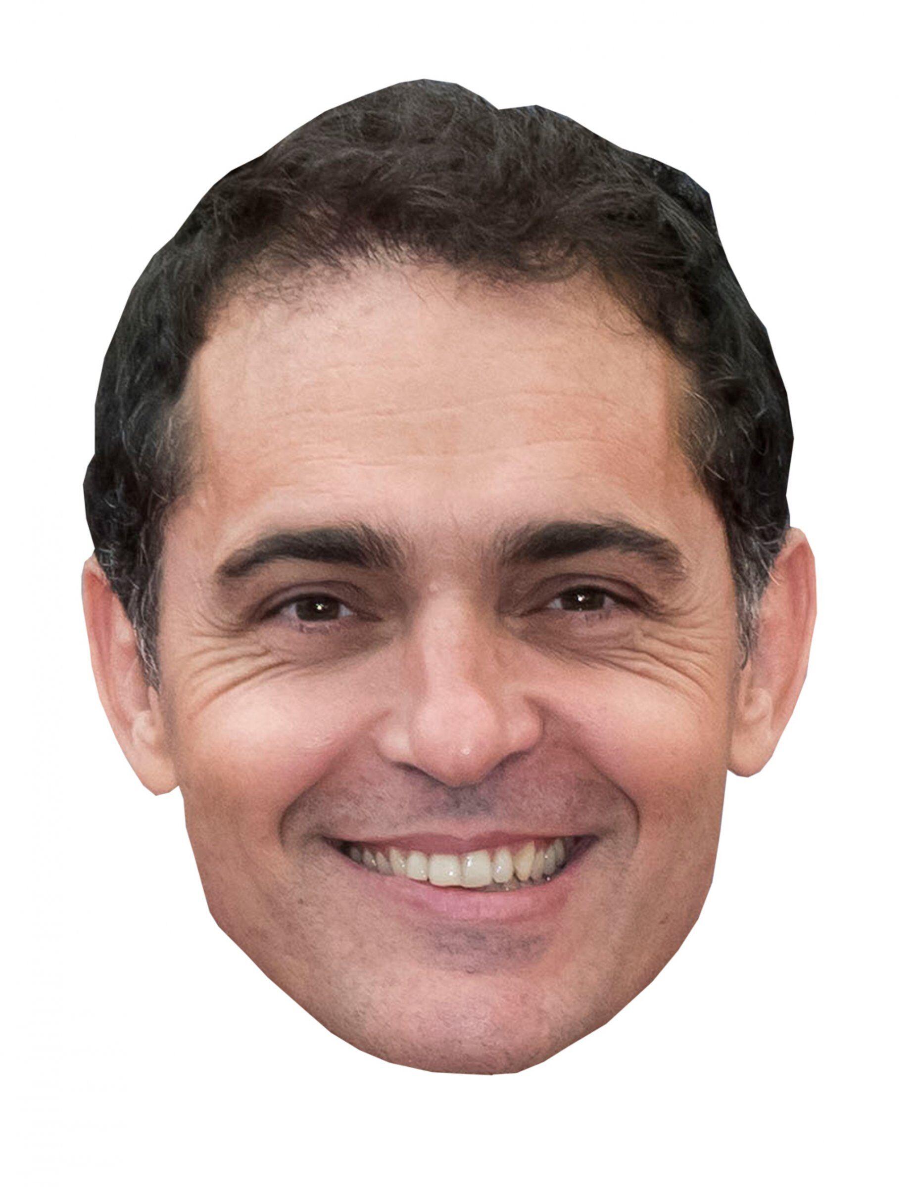 Vegaoo.es Máscara de cartón ladrón Pedro Alonso