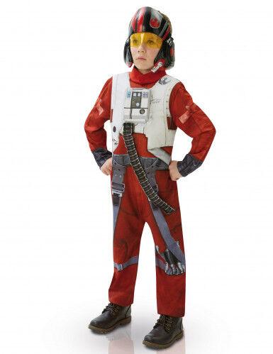 Disfraz niño Deluxe Poe X-Wing Fighter-Star Wars VII 9 a 10 años (129 a 140 cm)