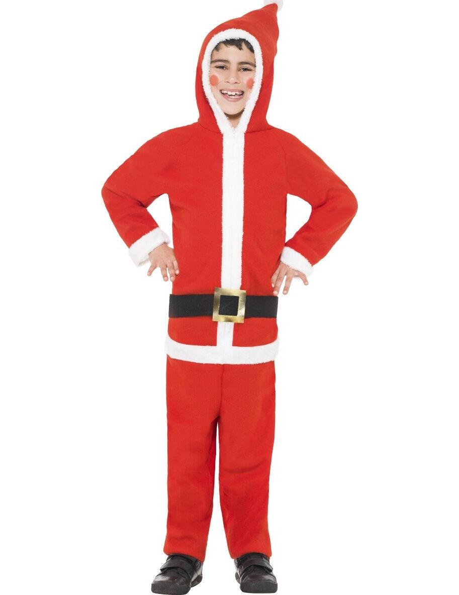 Vegaoo.es Disfraz Papá Noel niño - 7-9 años (130/143 cm)