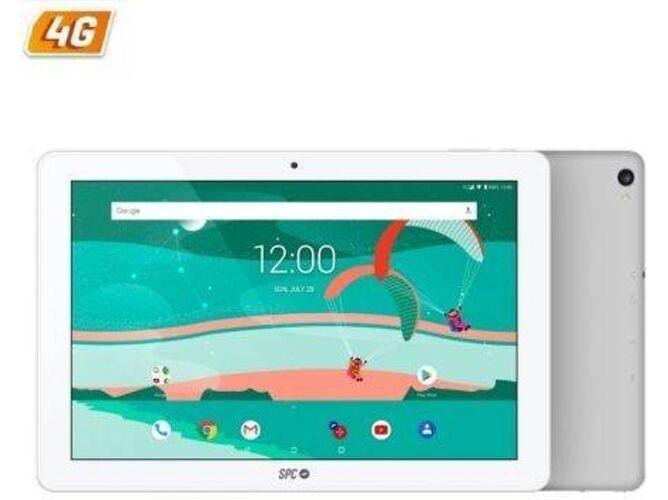 SPC Tablet SPC GRAVITY (10.1   - 16 GB - 2 GB RAM - Wi-Fi+3G - Plata y Blanco)