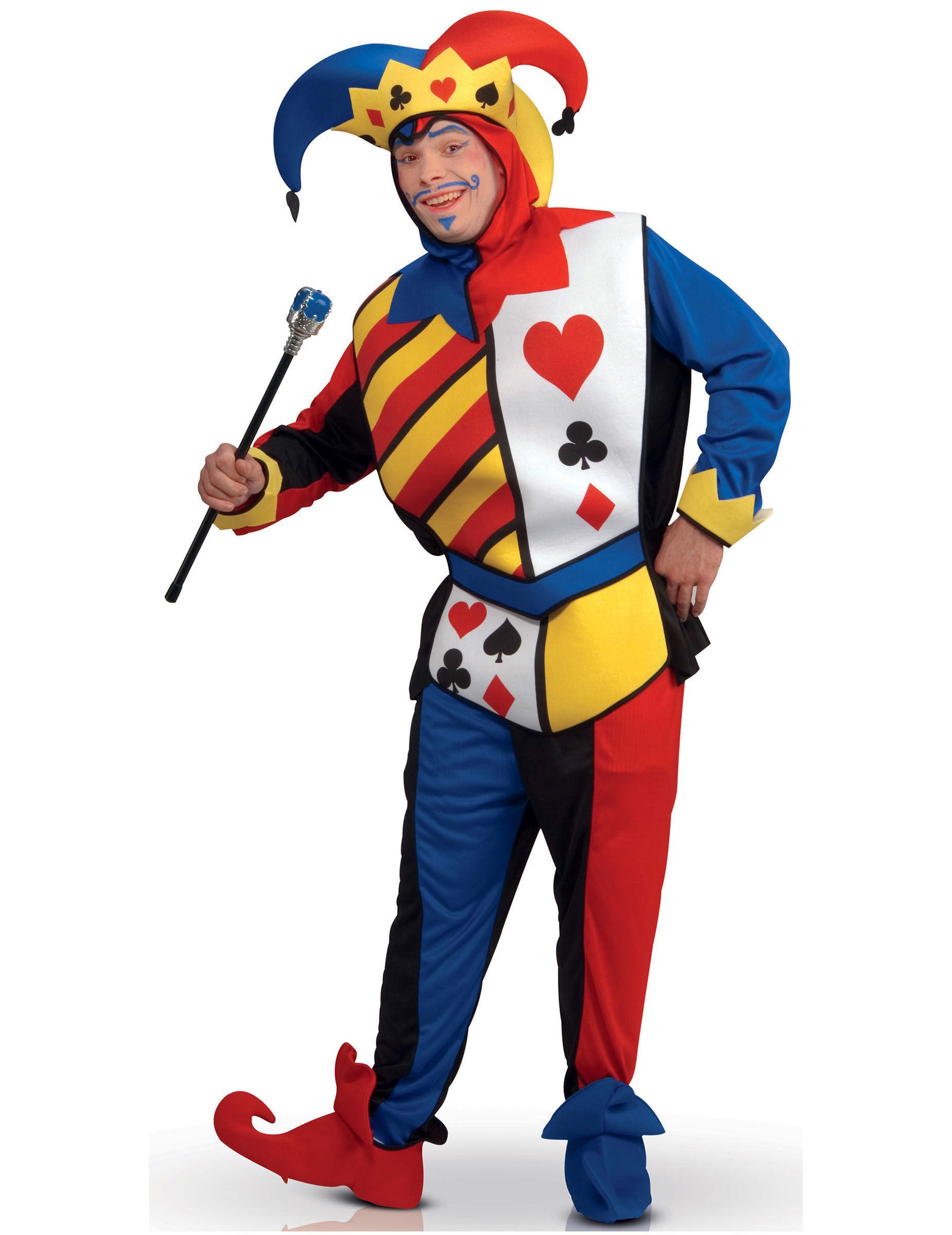 Vegaoo.es Disfraz joker juego de cartas Adulto