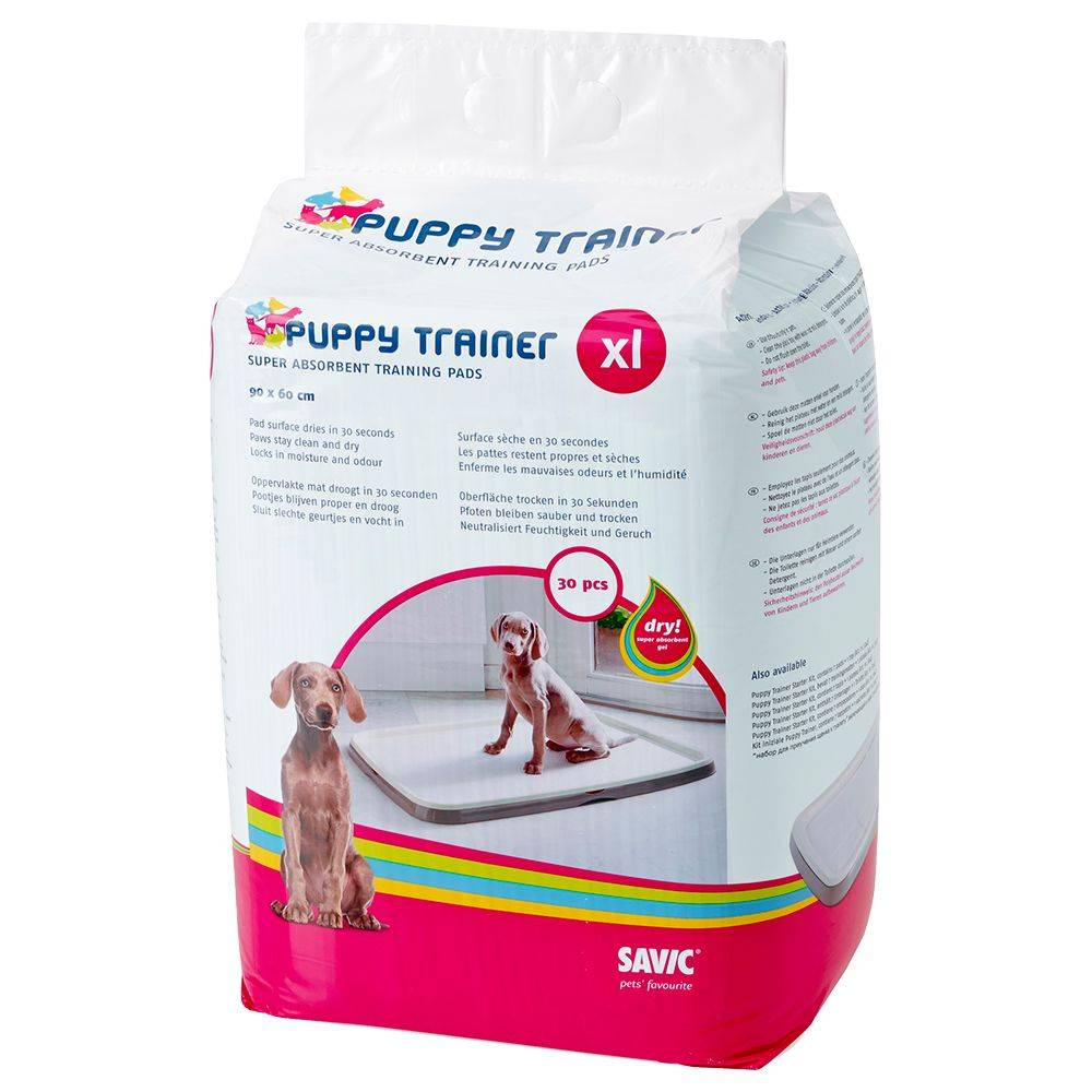 savic Oferta de prueba:  Empapadores Puppy Trainer + 1,5 kg Concept for Life Junior ¡precio especial! - Extra grandes, 30 unidades + Concept for Life Large Junior