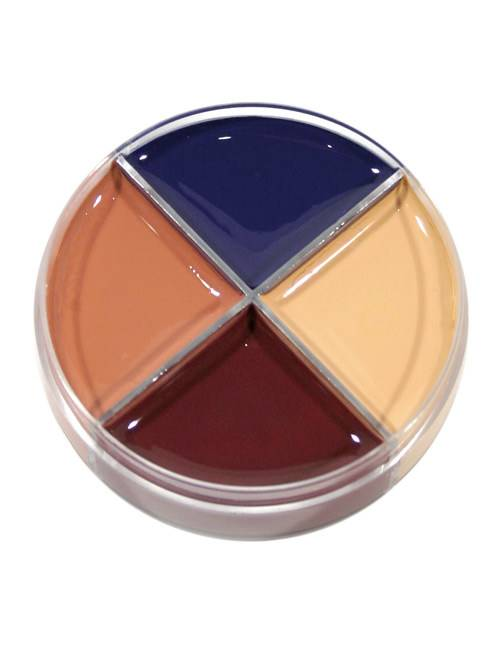 Vegaoo.es Paleta de maquillaje para heridas 4 colores Halloween