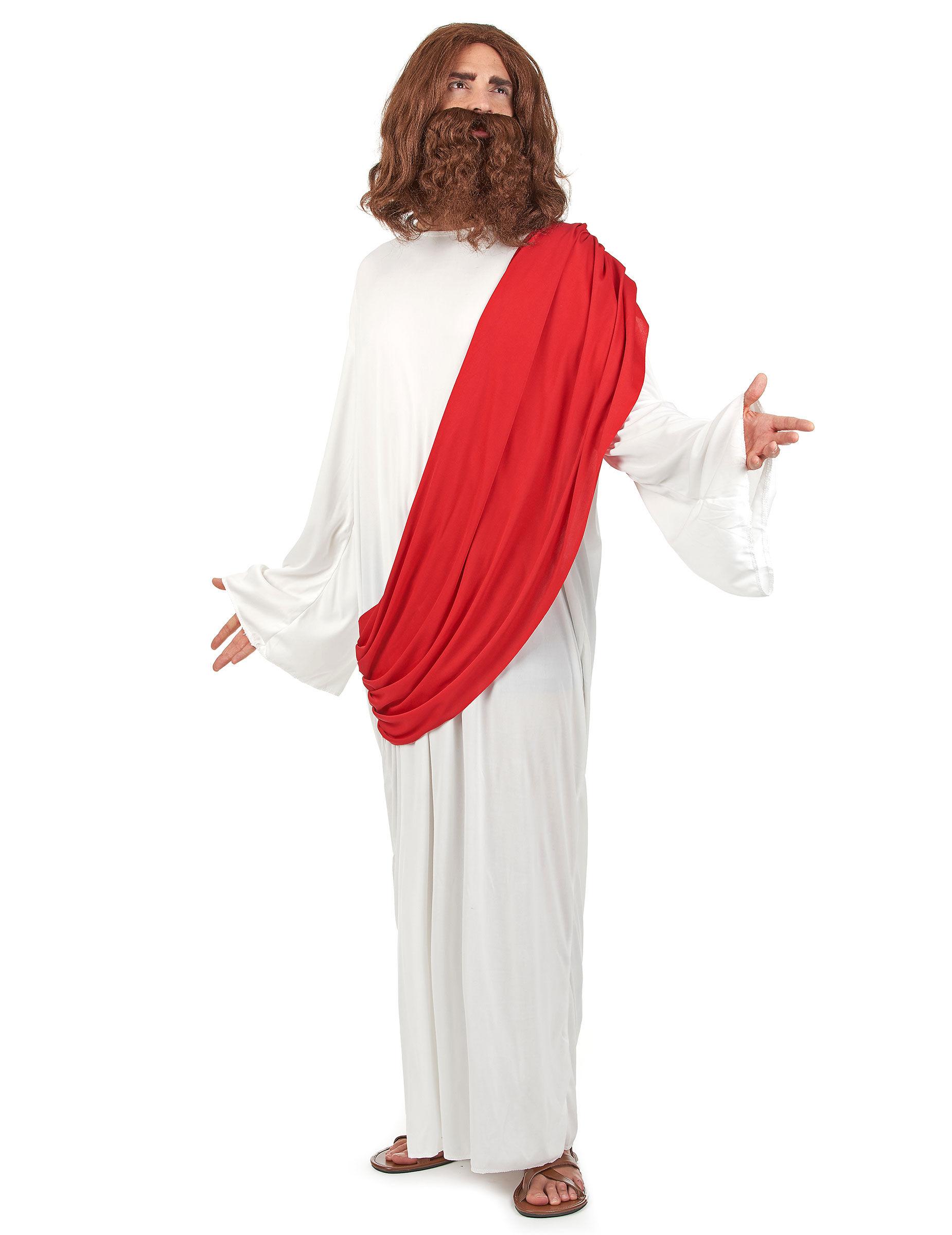 Vegaoo.es Disfraz de profeta para hombre blanco y rojo