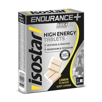 Isostar HIGH ENERGY Tablets 24 x 4g Limón
