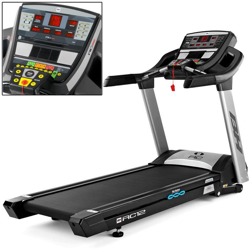 Cinta de Correr BH Fitness I.RC12 con banda ortopédica para reducir el impacto en las articulaciones: Equipo semi-profesional
